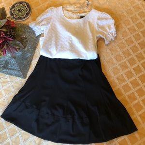 Black skirt, mesh with black lining
